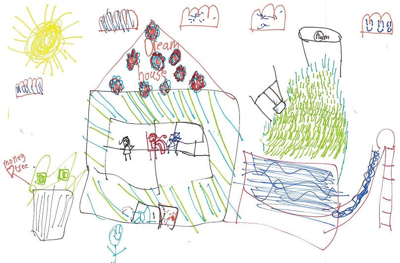 Bettridge School children design their dream homes