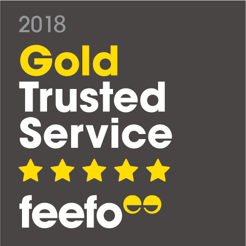 Naylor Powell Awarded Feefo Gold Trusted Service Award 2018